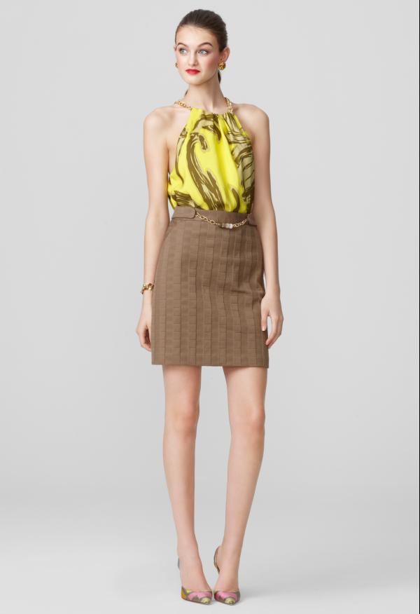 Amy barrel chain skirt
