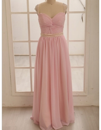 Length gorgeous prom dress/bridesmaid dress
