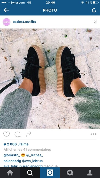 shoes puma rihanna