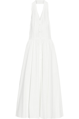 dress cotton white off-white