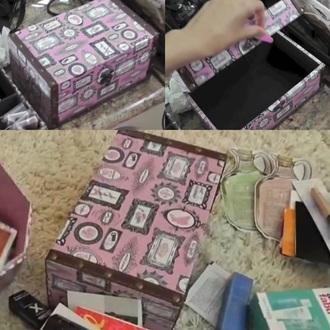 home accessory pink vintage paris theme storage box hobby lobby frame print