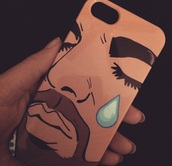 phone cover,drake,iphone 5 case