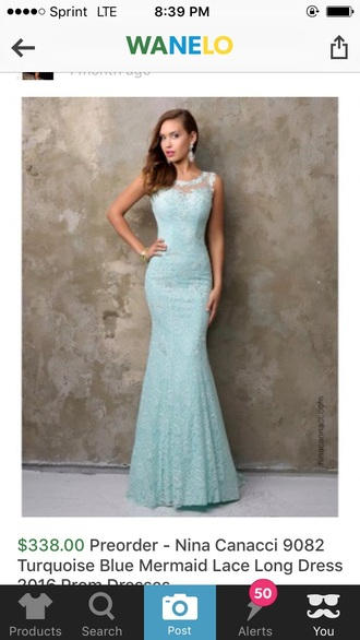 dress prom dress mermaid mermaid prom dress teal prom