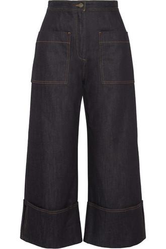 jeans denim high dark