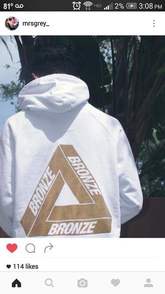 sweater sweatshirt hoodie urban baddies white