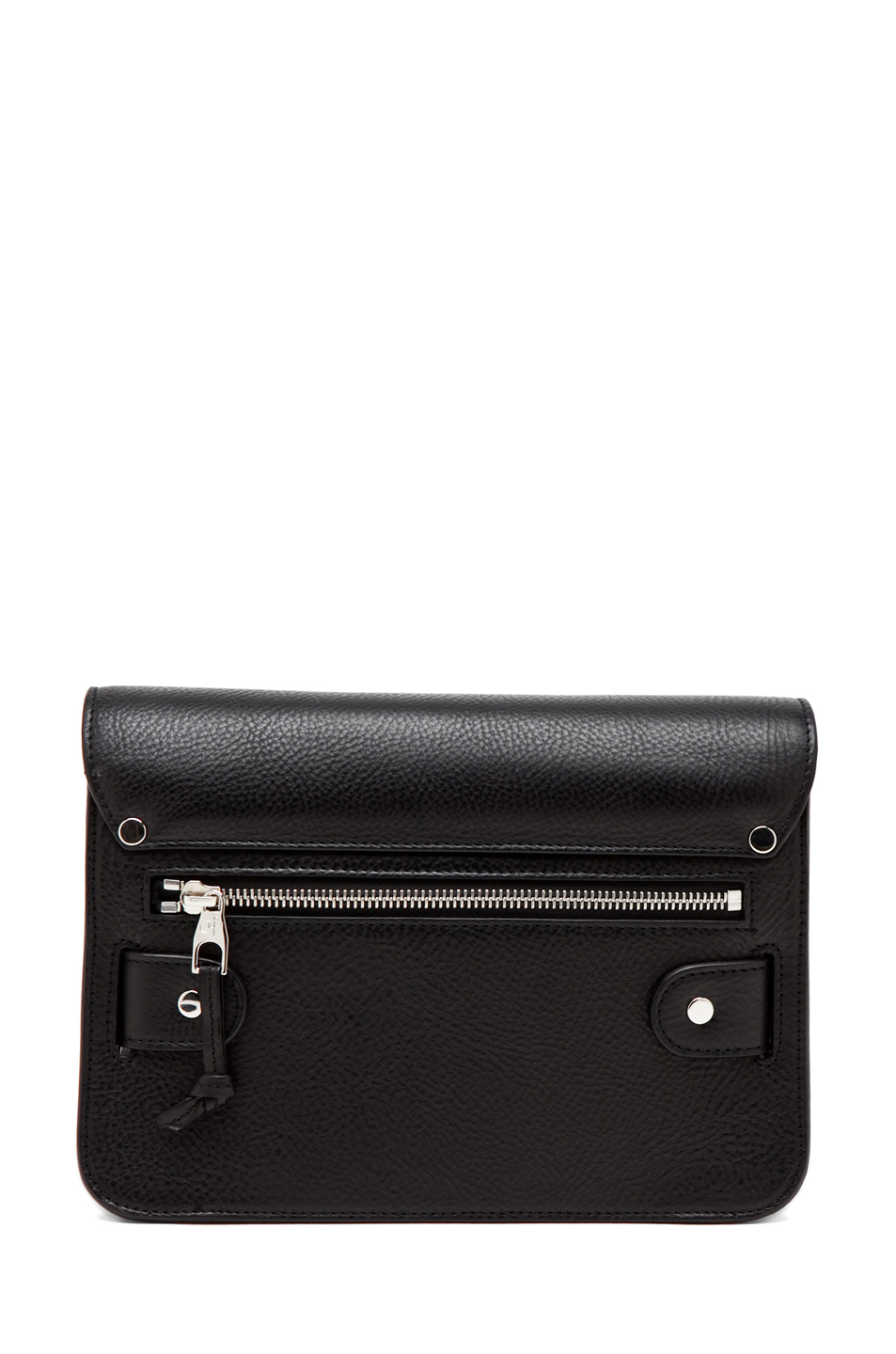 Proenza Schouler | Mini PS11 Classic Smooth Leather Bag in Black