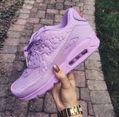 shoes,nike,purple