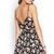 Floral Surplice Cami Dress on Wanelo