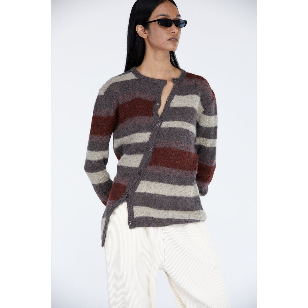 Victoria by Victoria Beckham Combo Striped Tunic Dress - Bergdorf Goodman
