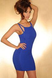 blue,apparel,accessories,clothes,dress,bandage dress