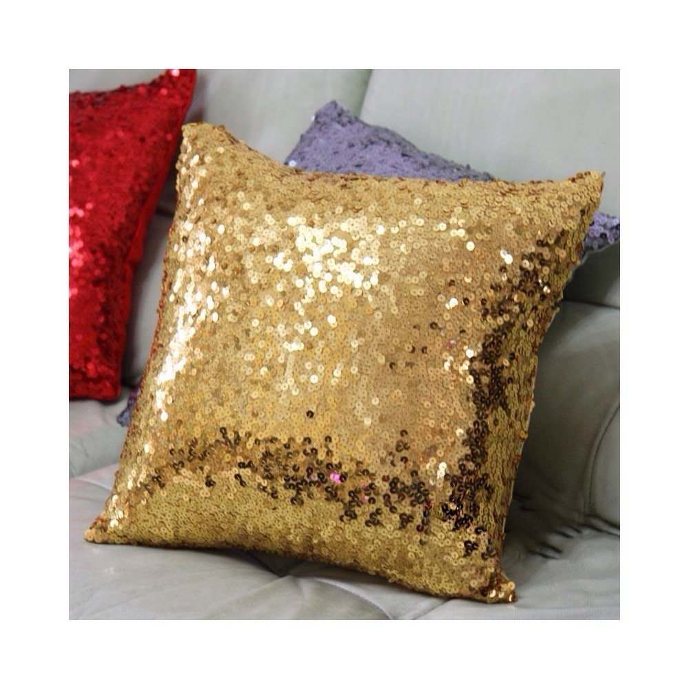 Europe luxurious sequin pillow cushion cover pillow case 17