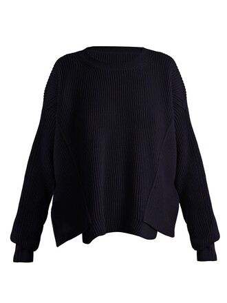 sweater wool sweater wool knit navy