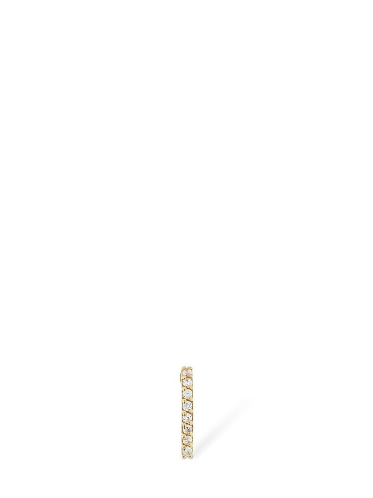 LIL Rainbow Mono Earring in white