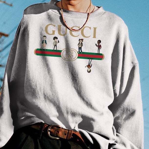 sweater gucci stranger things