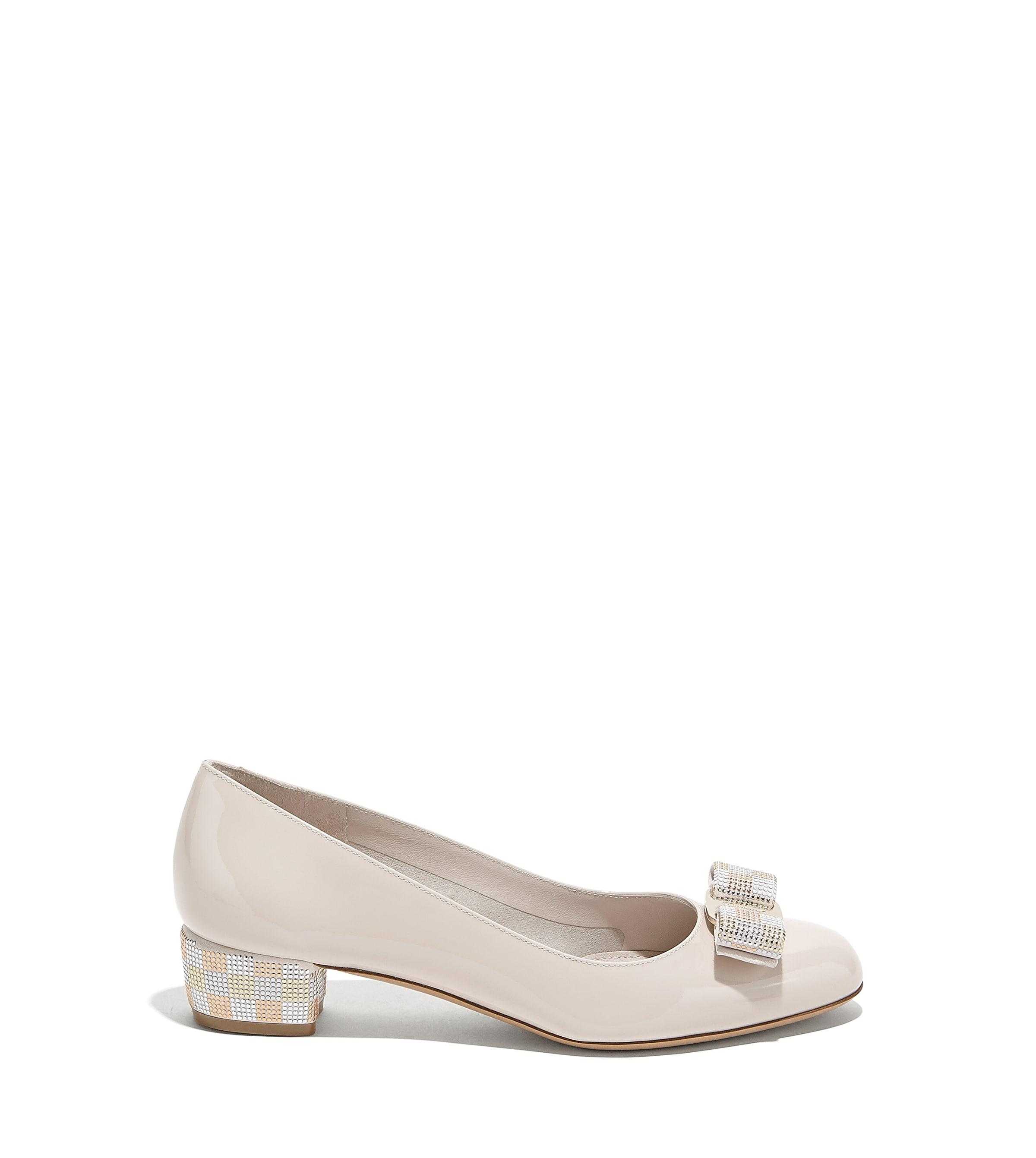Mosaic Vara Bow Pump Shoe - Shoes - Women - Salvatore Ferragamo EU