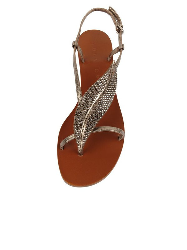 feathers sandals