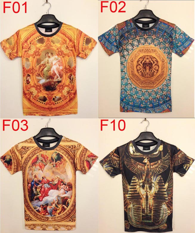 New fashion 2014 men 3d printing T shirt palace vintage retro 3d printed fashion brand tshirt for men SST18-in T-Shirts from Apparel & Accessories on Aliexpress.com