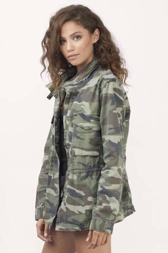 blouse jacket military style military coat green kaki jacket