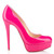 Christian Louboutin Bianca 140 Platform Patent Leather Pumps Hot Pink - $168.00 : Christian Louboutin Cele Shoes