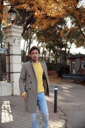 mypeeptoes,blogger,sweater,coat,socks