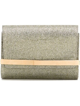 bow clutch metallic bag