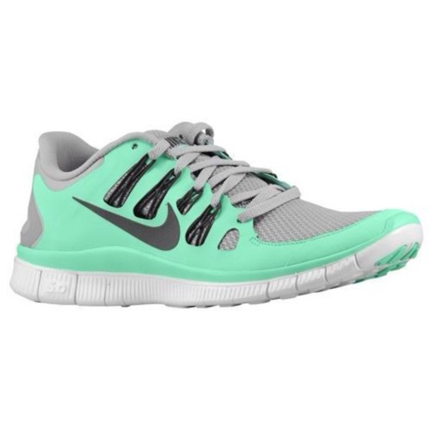 Grey Coral Nike Womens Running Shoes
