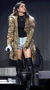 jacket,camouflage,green,long,becky g