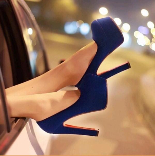 Christian Louboutin Daffodile 160mm platforms suede chunky heels ...