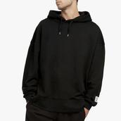 sweater,les girls les boys,black,hoodie,hooded sweatshirt,street,menswear