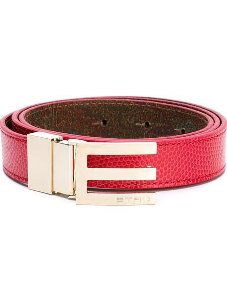 ETRO belt red