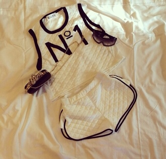 two-piece blouse jewels top chanel trendy fancy tshirts chanel t-shirt jumpsuit bethany mota sneakers shorts hair accessory