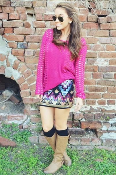 skirt sequin skirt blue sequin skirt aztec skirt tribal skirt sequin tribal skirt
