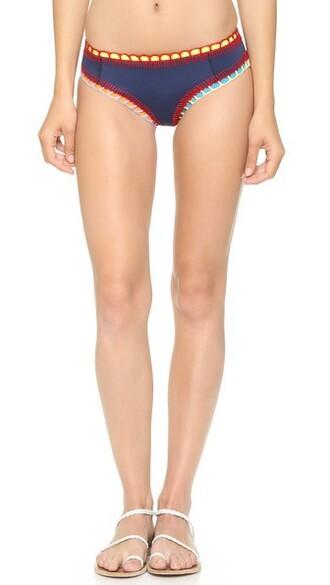 bikini bikini bottoms short navy swimwear