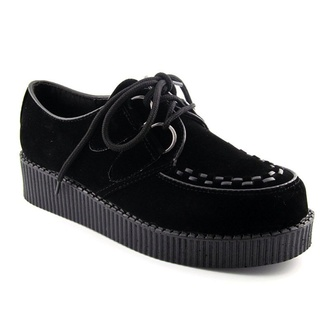 shoes creepers black