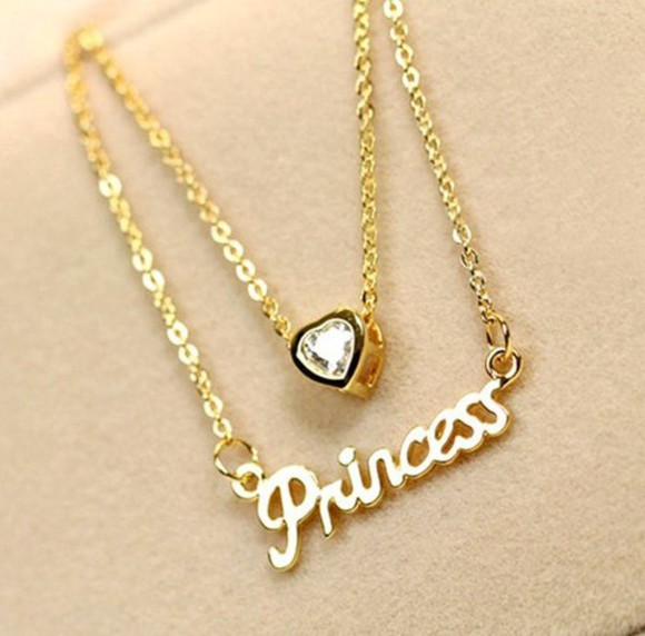jewels necklace necklace sexy gold princess