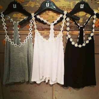 shirt flower shirt flowered top coulorful white t-shirt white top white shirt grey t-shirt black top