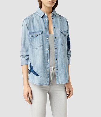 shirt denim denim shirt embroidered denim jacket embellished