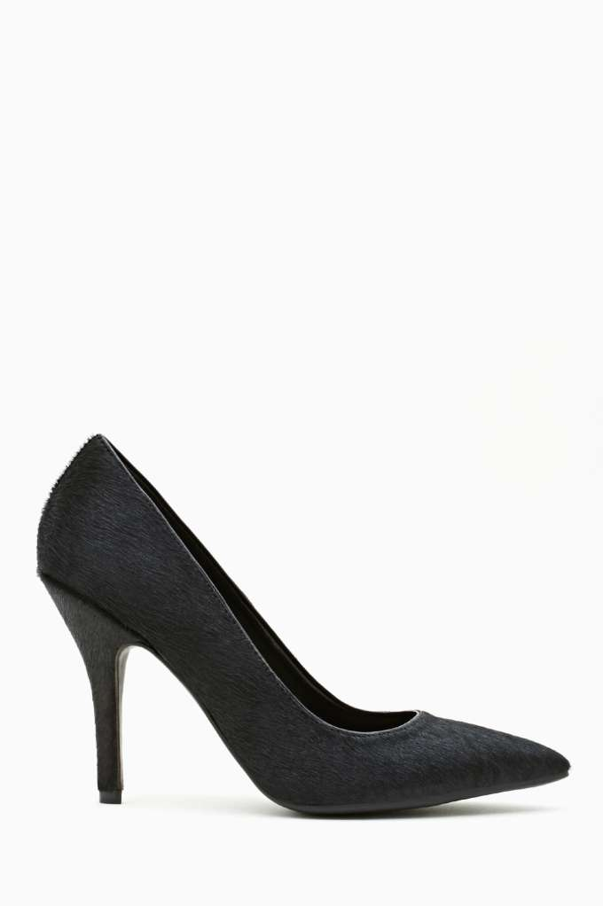 Shoe Cult Luxe Pump - Pony  in  Shoes Heels at Nasty Gal