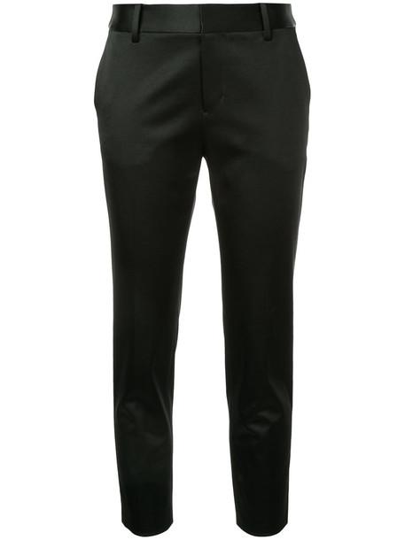 Estnation cropped women black pants