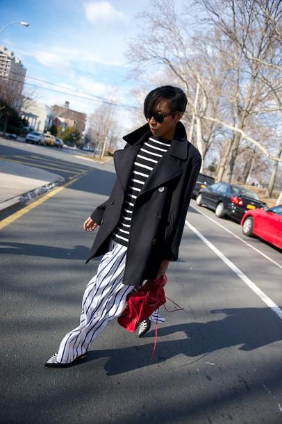 where did u get that blogger shoes coat pea coat