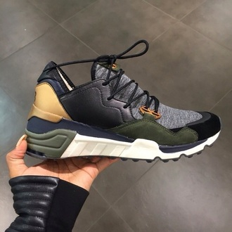 shoes green sneakers olive green