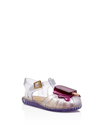 shoes kids shoes jellies clear shoes ice cream kids fashion