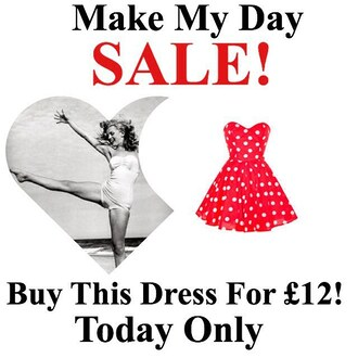 dress red styleiconscloset polka dots sale