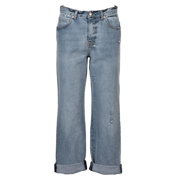 Alexander Mcqueen jeans light blue light blue