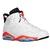 Jordan Retro 6 - Men's - Basketball - Shoes - White/Infrared 23/Black