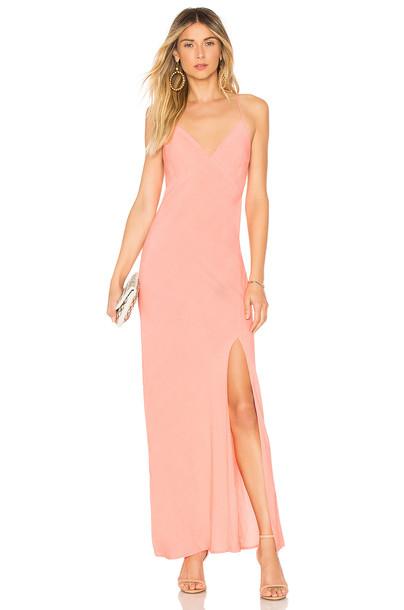Cleobella Becket Slip Dress in coral