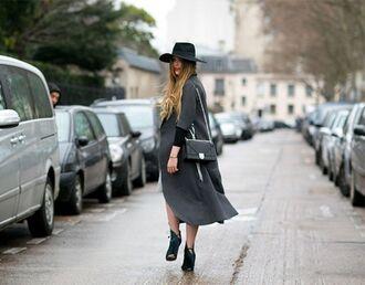 bag green heels diorama bag dior bag dior black bag chain bag coat long coat grey coat hat black hat kristina bazan kayture high heels