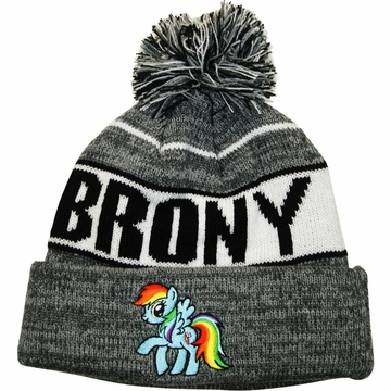 My Little Pony Brony Cuff Beanie