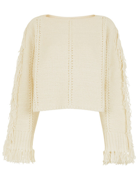 3.1 Phillip Lim sweater cropped white