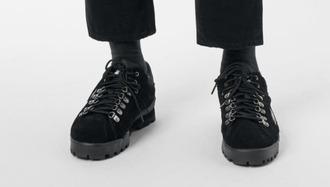 shoes hiking sneakers hiking hiking shoes black weekday